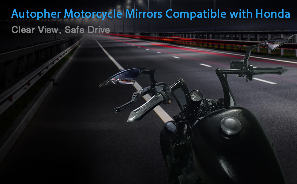 Motorcycle Mirrors Rear View Side Mirrors