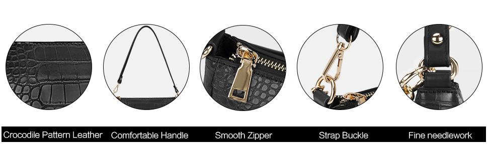 shoulder purse mini purses for women black shoulder bag women's clutch handbags