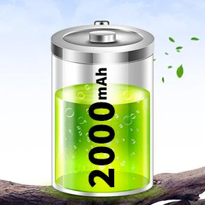 2000 mAh Battery