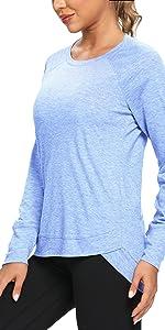 OJONIK Long Sleeve Shirts for Women