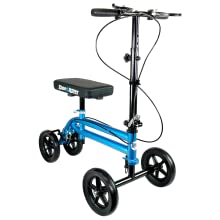 KneeRover Economy Knee Scooter is also available in Metallic Blue color