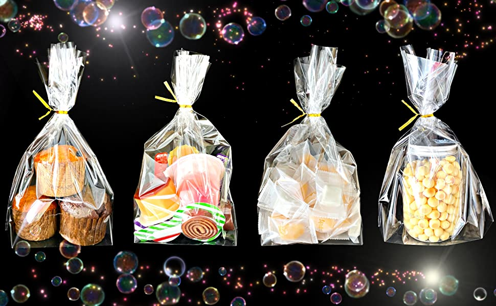 clear candy party favor bags