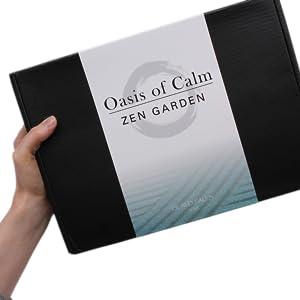 Oasis of Calm Zen Garden by Island Falls Home - Gift Box