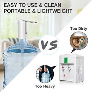 pk water dispenser pump