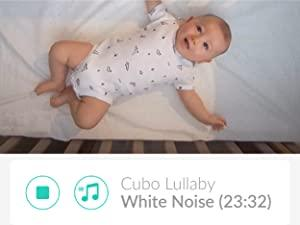 app in built lullaby white noise cubo ai