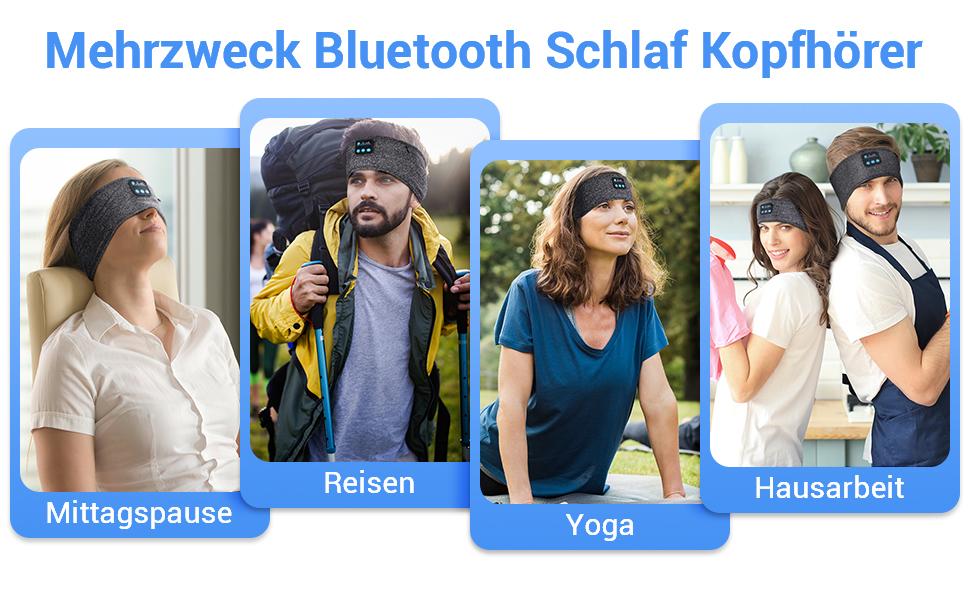 schlafkopfhörer bluetooth schlaf kopfhörer 5.0 bluetooth kopfhörer personalisierte geschenke