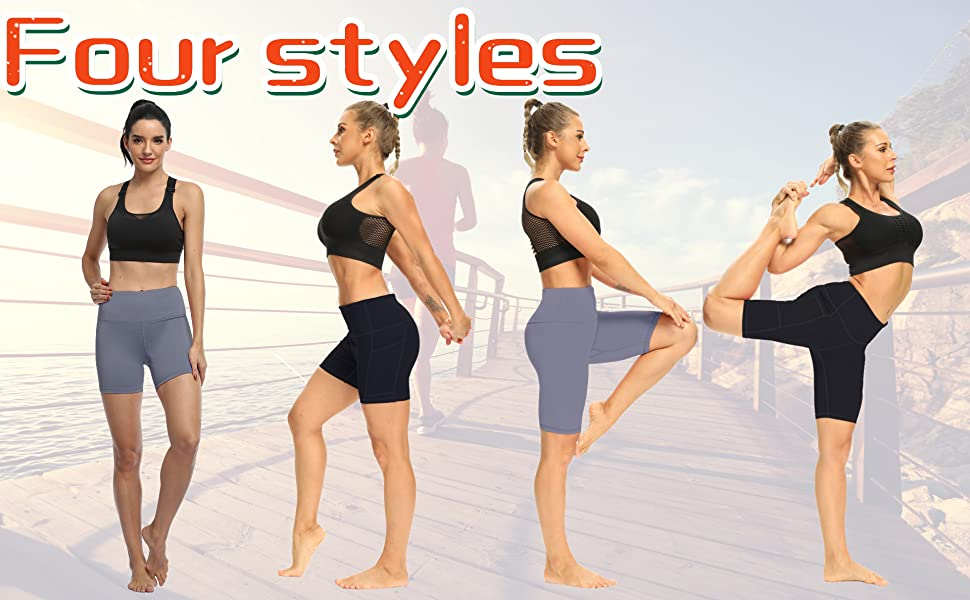 Why choose our yoga shorts?