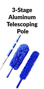 3-Stage Aluminum Telescoping Pole