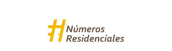 Logo Números Residenciales