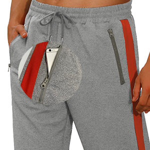 Two Pockets with Zipper