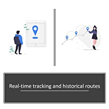 real-time tracking and historical routes