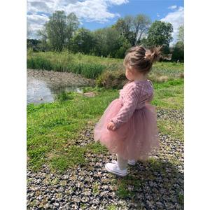 summer sleeveless dress for baby girl