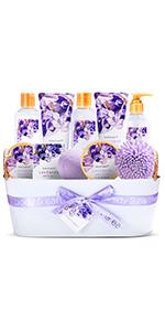 Bath Spa Gift Basket 013