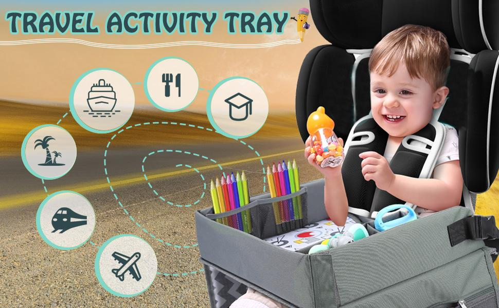 Lil Tots Gear Travel Tray Portable