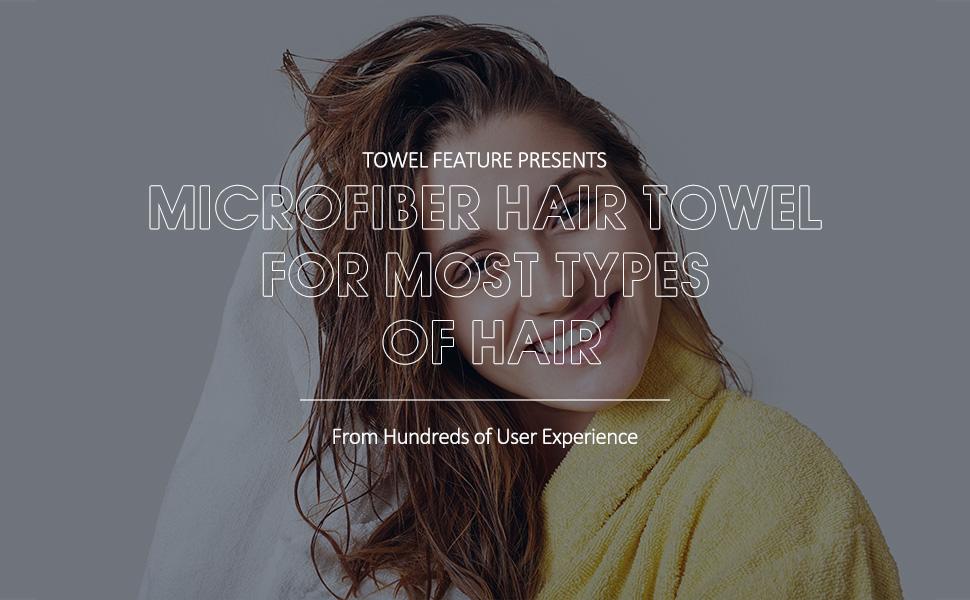 Microfiber Hair Towel 3 Packs Hair Turbans for Wet Hair Drying Hair Wrap Towels for Curly hair