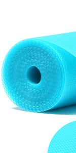 blue shelf liner