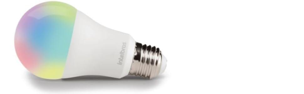 Lâmpada smart, lâmpada inteligente, casa inteligente, smart, colorida
