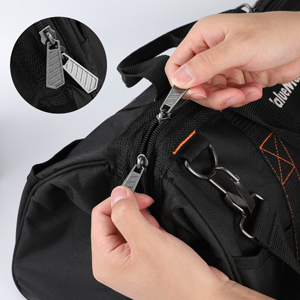 Double zippers and   large opening amp;amp; Organize and access easily