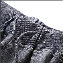 Elastic waistband with adjustable drawstring