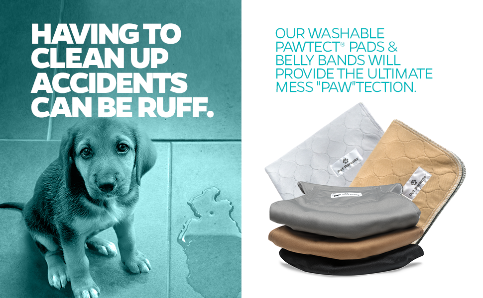 belly bands, puppy pads, washable pee pads, whelping pads, dog diapers