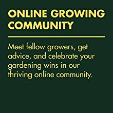 Online growing community - meet fellow growers, get advice and celebrate your gardening wins