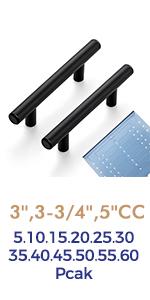 Black Kitchen Cabinet Handles Matte Black Cabinet Pulls Black Drawer Pulls Kitchen Cabinet Hardware