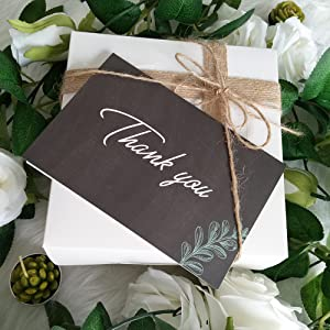Thank You Cards with Envelopes Stickers Bulk
