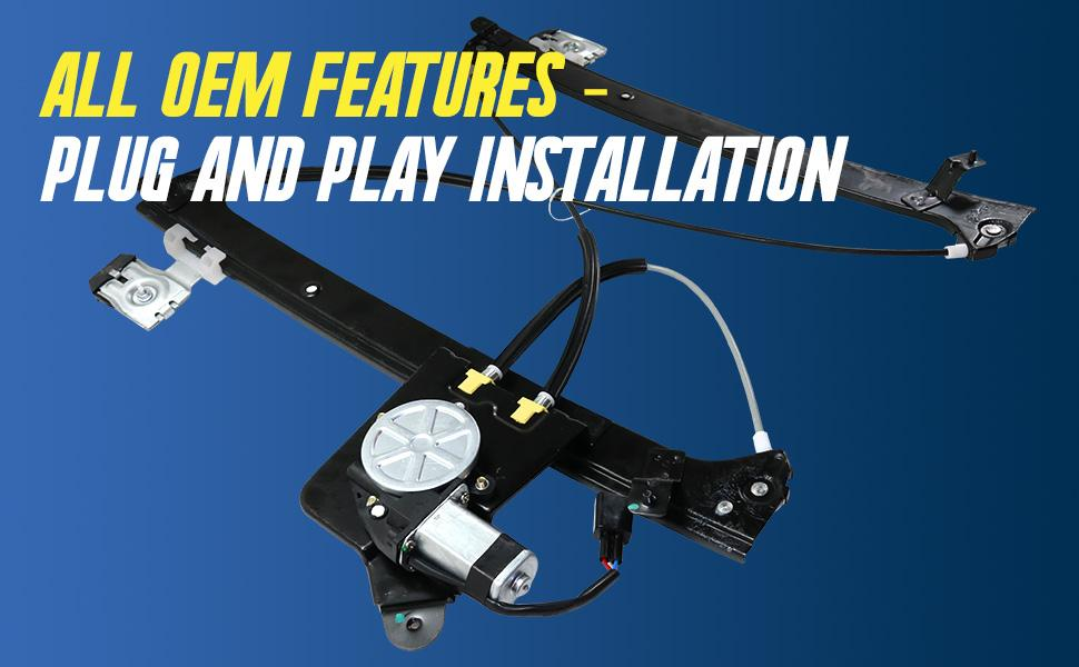 plug and play direct fit install