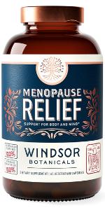 Menopause Relief - Windsor Botanicals High Potency Supplements