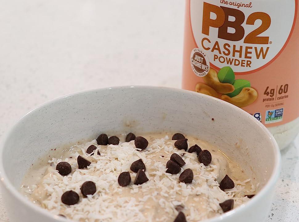 PB2 Cashew Powder Powdered Peanut Butter Peanut Powder