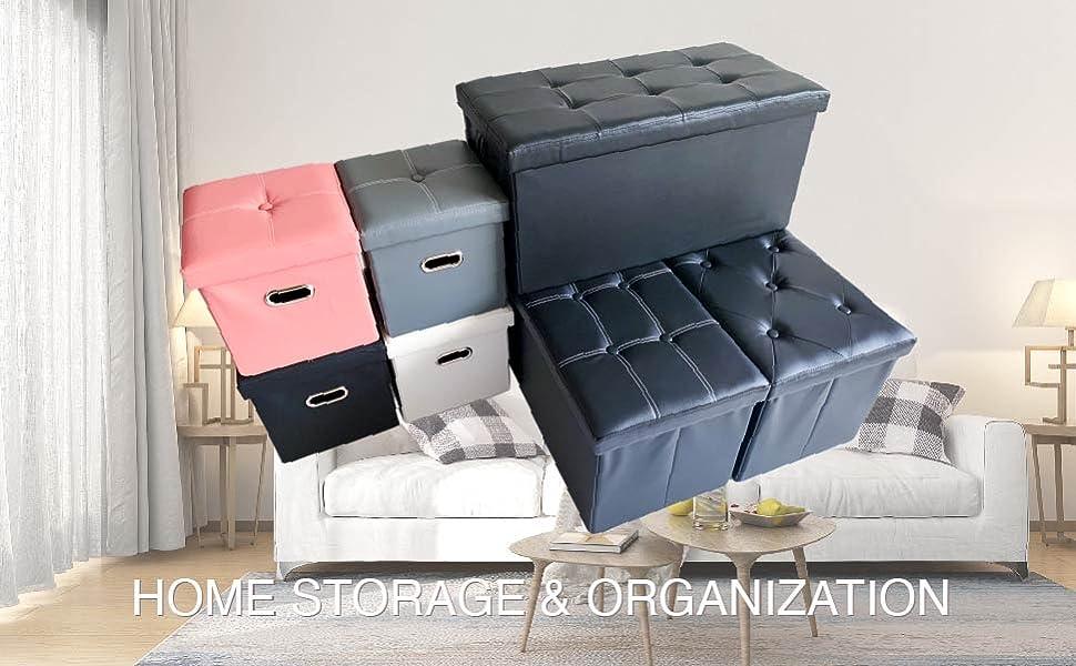 YQYS Ottomans - Home Storage amp; Organization