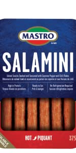 Mastro Salamini Hot in Resealable package