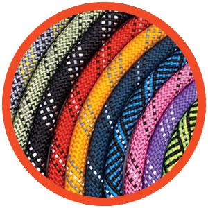 Rope Dog Leash Colors