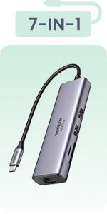 USB C Hub 7 in 1