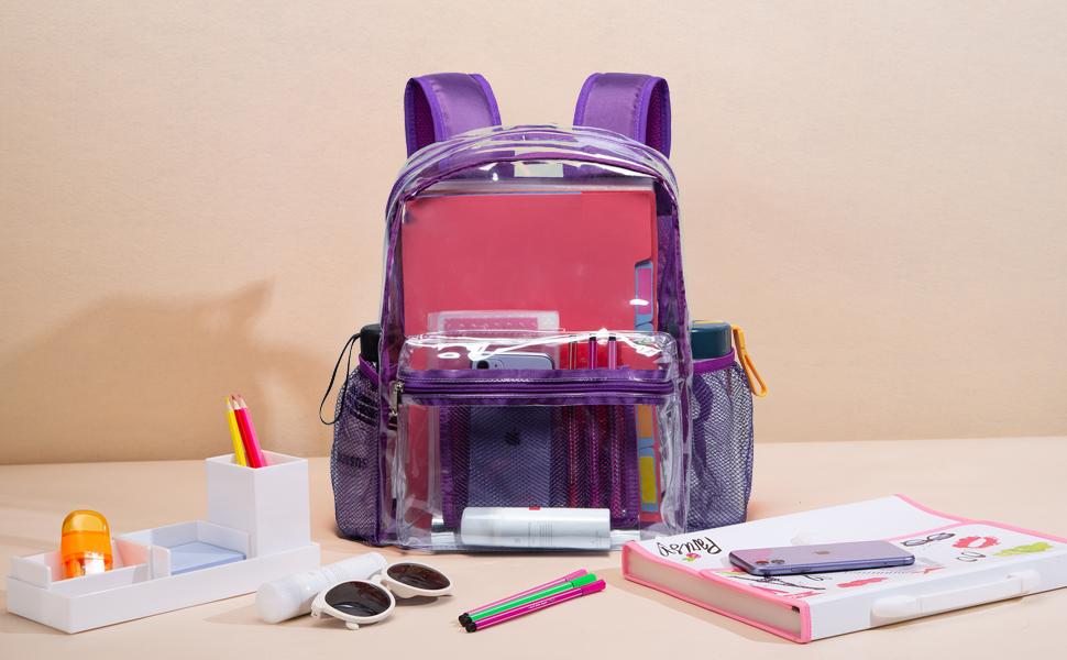 Vorspack clear backpack
