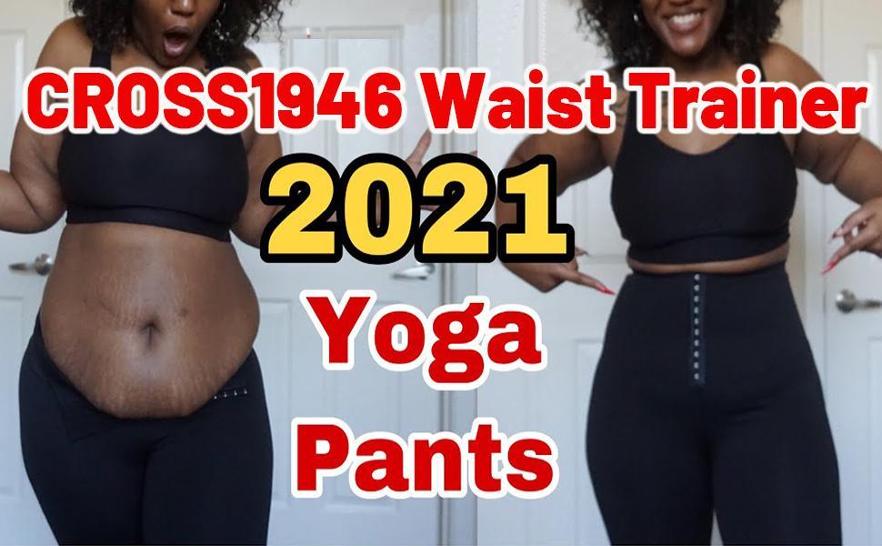 CROSS1946 Waist Trasiner Yoga Pants
