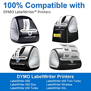 Compatible with all DYMO LabelWriter Printers