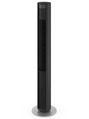 Le ventilateur colonne Peter noir de Stadler Form
