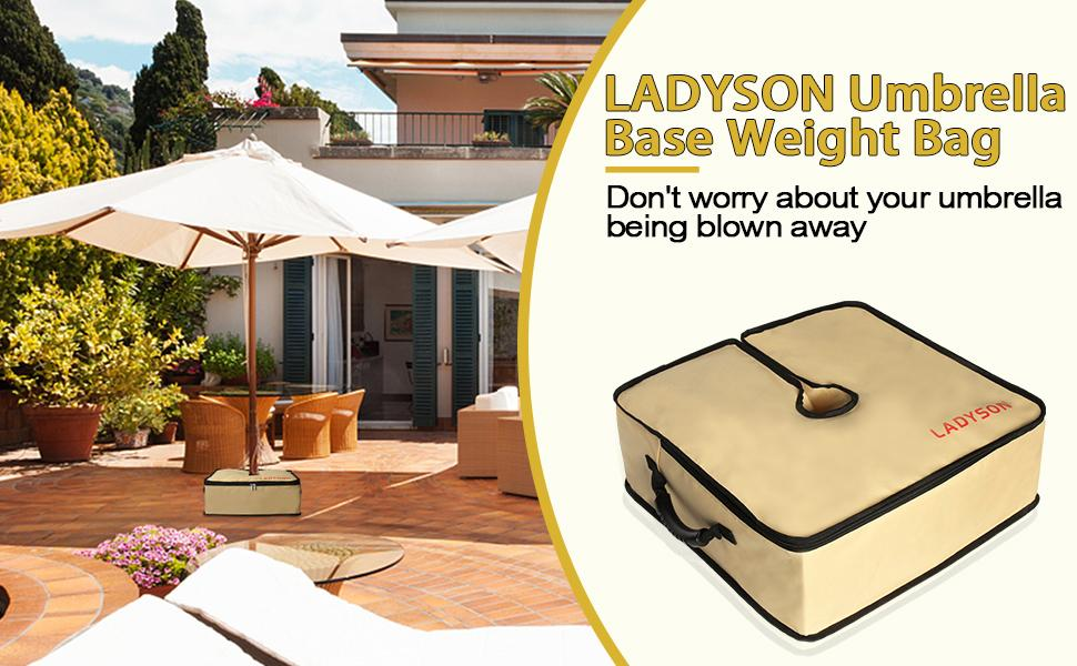 umbrella base weight bag