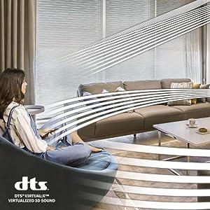 Dolby Digital 5.1 / DTS Virtual:X
