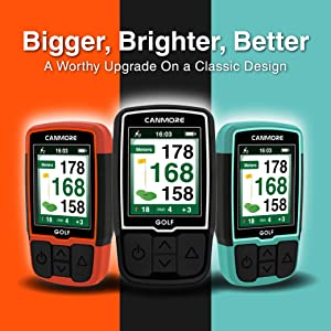 CANMORE HG200 GPS Golf Rangefinder