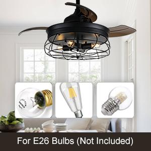 chandelier ceiling fan