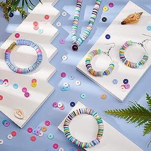 Djeco houten kralen, Lego Dots, Clay Beads, Cutie Stix navulverpakking, queta parels, platte parel