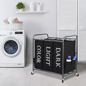 Laundry Sorter Cart