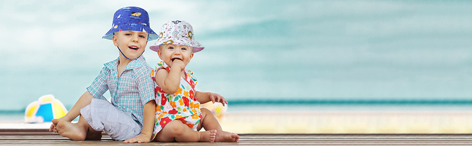 Kids Sun Bucket Hat
