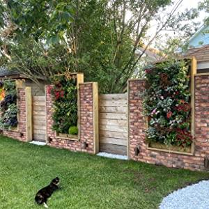 Vertical outdoor garden