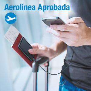 babaka cargador portatil carga rapida fly-free