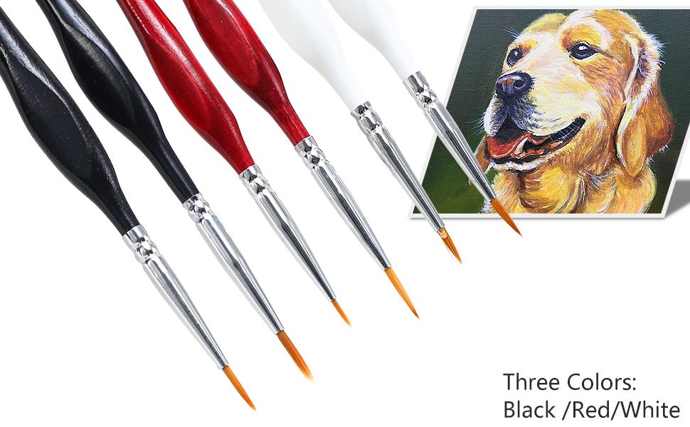Detail Paint Brushes Set  Miniature Brushes