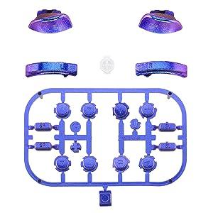 Chameleon ABXY Direction Keys SR SL L R ZR ZL Full Set Buttons for Nintendo Switch Joy-Con 1