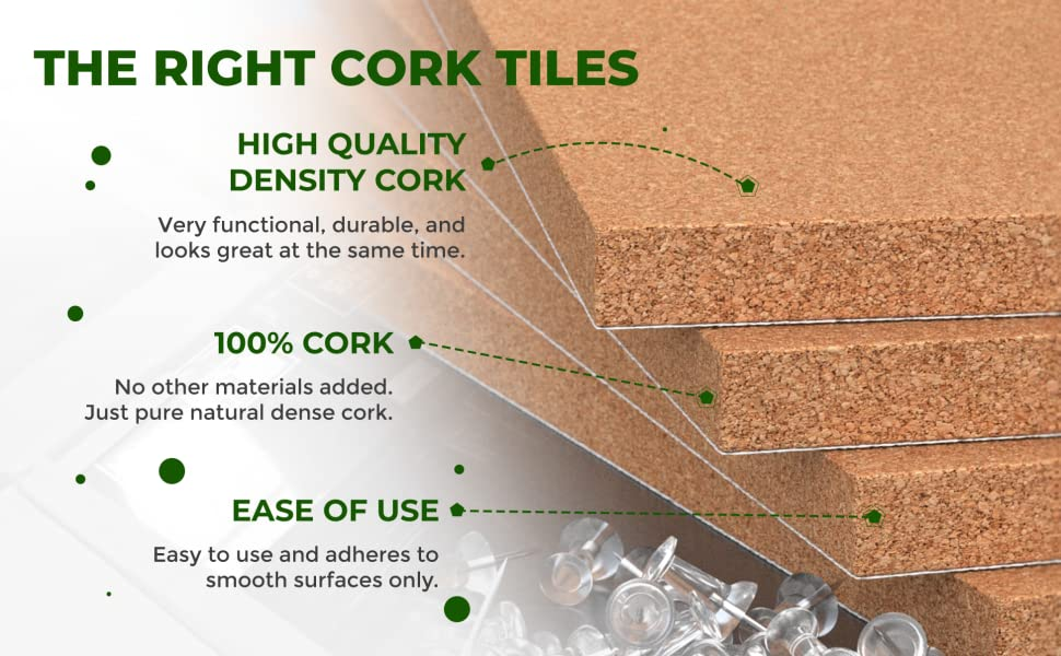 Cork Board Natural premium cougar cougar cork dense high quality